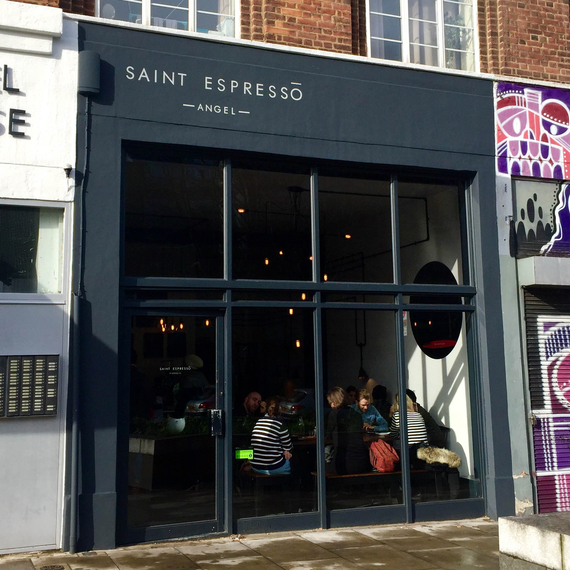 Αποτέλεσμα εικόνας για Saint Espresso, Angel London pics